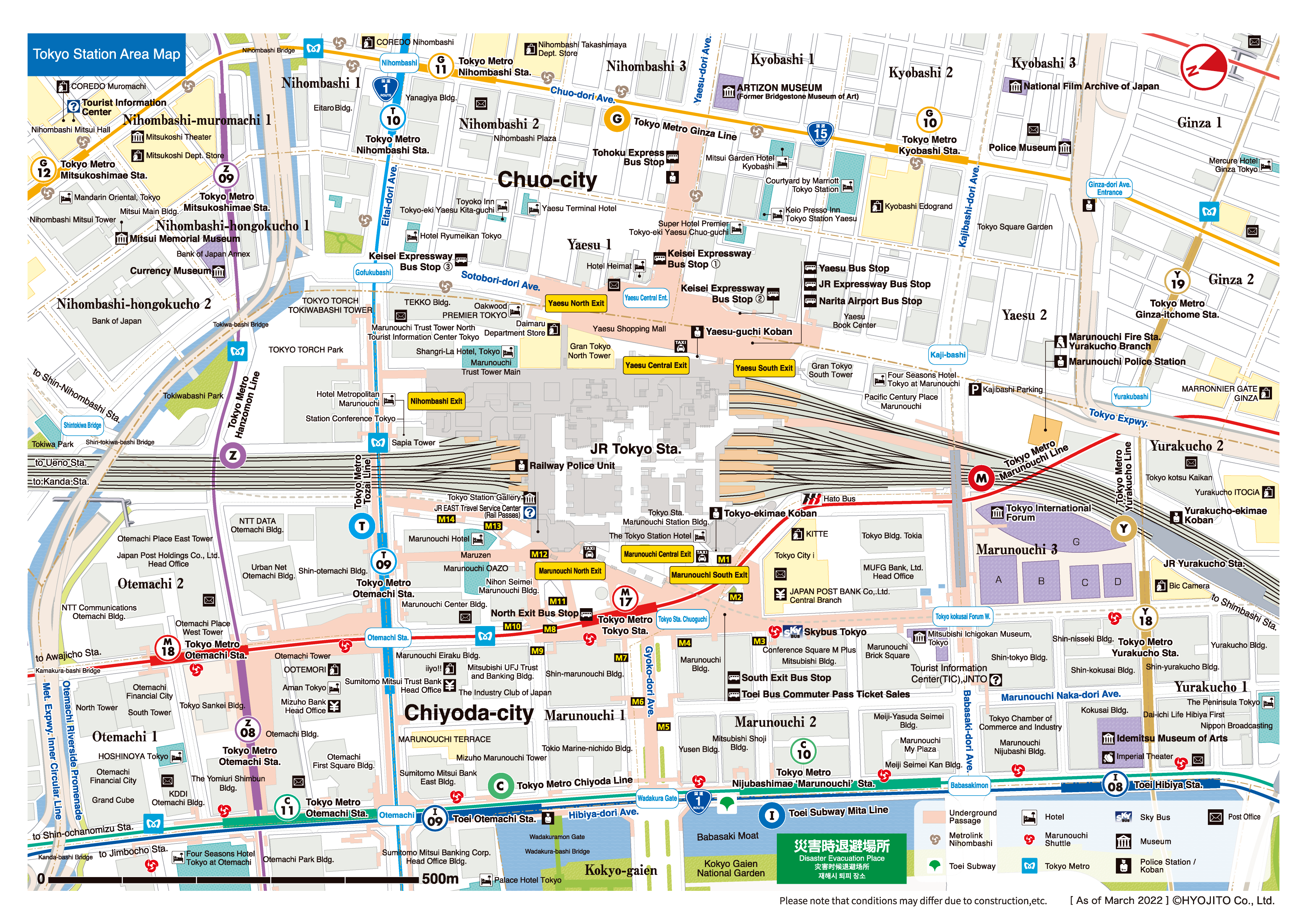 2 Ave Subway Map.Tokyo Station Map Area Map Tokyo Station City
