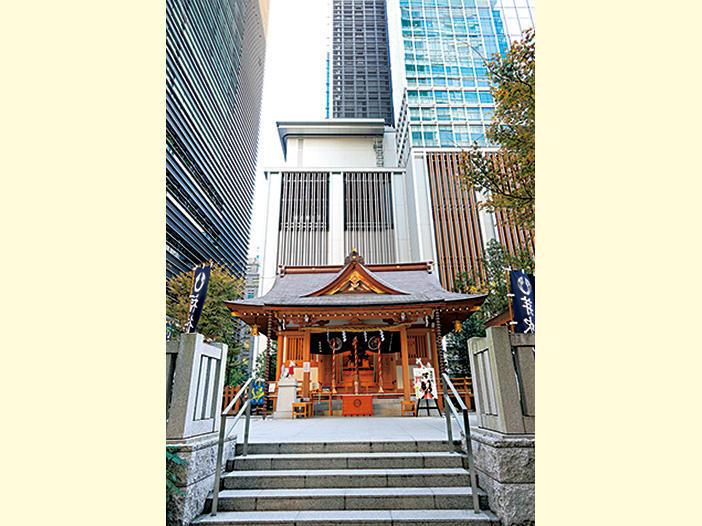 【平成に再建!】福徳神社(芽吹稲荷)