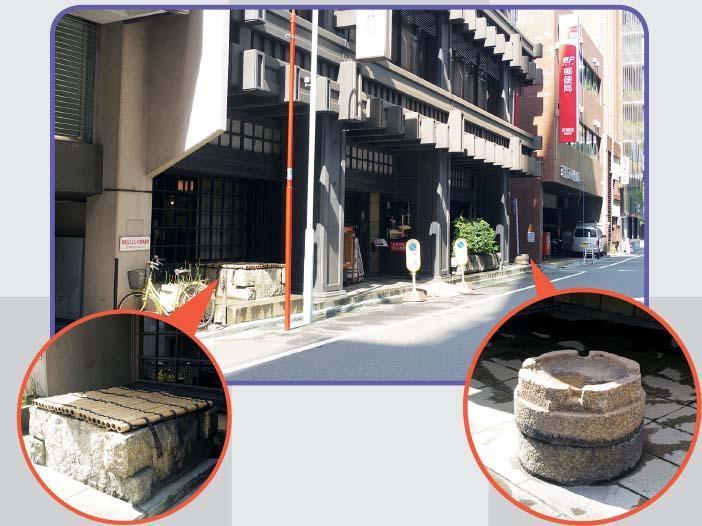 京橋に現れる、謎の井戸!?