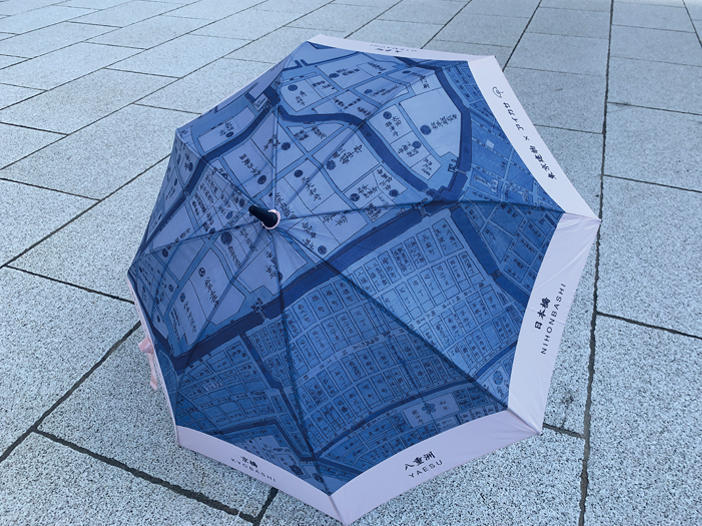 """雨でも最高のおもてなし!""""雨の日のプラットホーム""""<br>傘のシェアリングサービス「アイカサ」"""