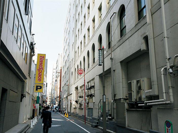 昭和に築かれた街の風景