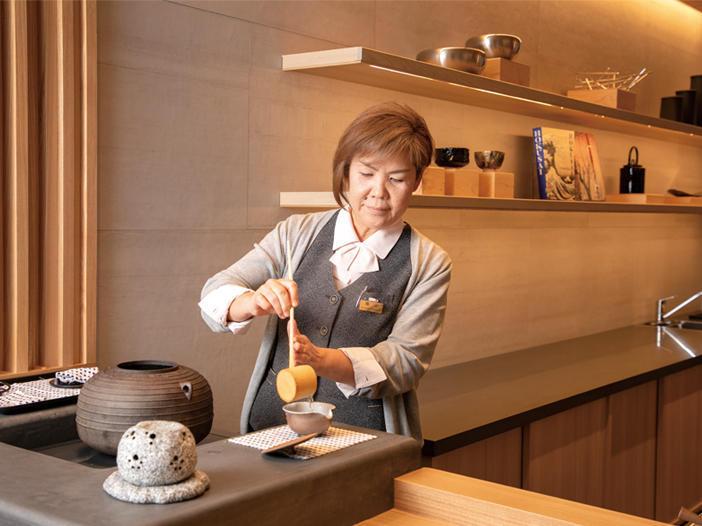 山形屋海苔店 京橋本店 喫茶室